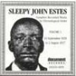 Estes Sleepy John-Complete Recs Vol 1