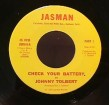 Johnny Tolbert-(45RPM) Check Your Battery / Part 2
