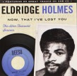 Holmes Eldridge- Now That I've Lost You