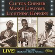 Chenier C / M Lipscomb/ L Hopkins- Live! At  1966 Berkeley Blues
