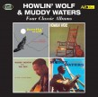 Howlin Wolf/ Muddy Waters-(2CDS) Four Classic Albums