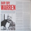 Baby Boy Warren- (VINYL) Stop Breaking Down