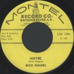 Buck Rogers-(45RPM) Maybe/ I Can't Live Alone
