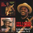 Walker Joe Louis-(2CDS) Live At Slims Vols 1+2