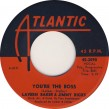 Laverne Baker / Jimmy Ricks- (45RPM) You're The Boss/ I'll Never