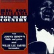 Williams Big Joe- Back To The Country (OUT OF PRINT)