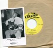 "Arthur ""Blues"" Crudup-(45RPM) Moon is Rising/ She's My Baby (unr"