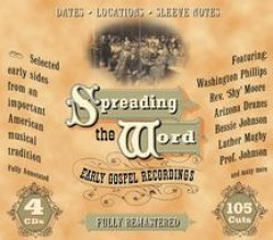Various- Spreading The Word EARLY GOSPEL CLASSICS (4cds)