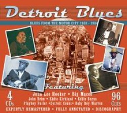DETROIT BLUES- (4CDS) The RAW Sounds of the Motor City