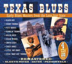 TEXAS BLUES-(4cds)- Early Blues Masters from Lone Star State