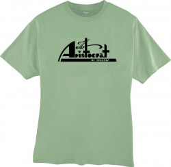 Aristocrat Records- T-SHIRT- Stone Green- EXTRA LARGE