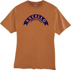 EXCELLO T-Shirt- Texas Orange- EXTRA LARGE