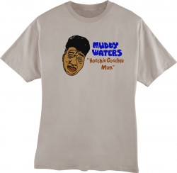 Muddy Waters- Lt. Brown- Extra Large