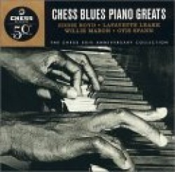 Chess Blues-(2CDS)-Piano Greats (USED)