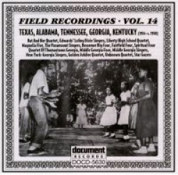 Field Recordings- Vol 14 Paramount Singers- Fairfield Four