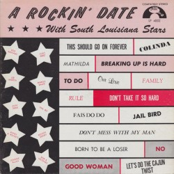 A Rockin Date With South Louisiana Stars- (VINYL) JIN RECORDS