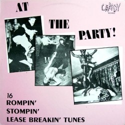 At The Party-(VINYL) 16 Rompin Stompin Lease Breakin Tunes
