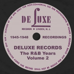 DELUXE RECORDS- The R&B Years Vol.2