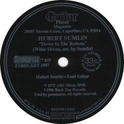 Hubert Sumlin- (33RPM Soundpage) Down In the Bottom