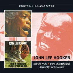 Hooker John Lee-(2CDS) Kabuki Wuki / Born In Mississippi
