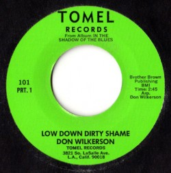 Don Wilkerson-(45RPM) Low Down Dirty Shame (1+2)