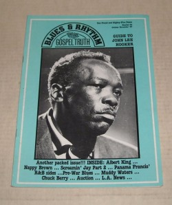 Blues & Rhythm Magazine- #32- Nappy Brown- Muddy Waters