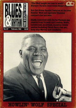 Blues & Rhythm Magazine #67 Howlin Wolf- Baby Boy Warren