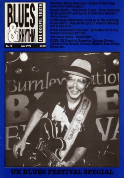 Blues & Rhythm Magazine- #70 STAX Blues- Sherman Robertson