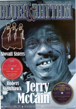 Blues & Rhythm Magazine-#257 Jerry McCain Robert Nighthawk