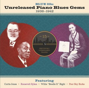 Blue 88\'s- Unreleased Piano Blues Gems 1938-1942