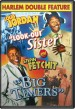 Harlem Double Feature- DVD- Look Out Sister (1948) Big Timers