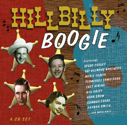 Hillbilly Boogie- (4CDS)-  Roy Hall- Jimmy Bryant + MORE